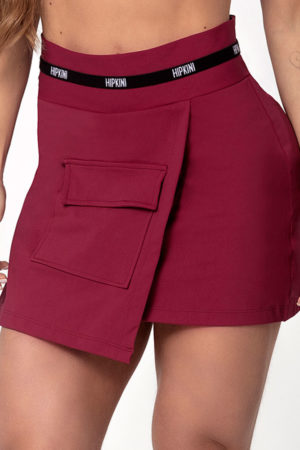 Shorts Light Fitness Marsala
