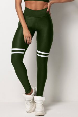 Tfin Fitness Green Legging with Pockets